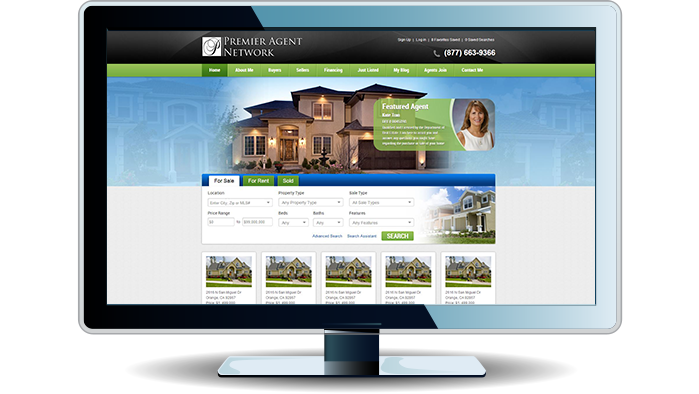 the U.S. real estate agent website