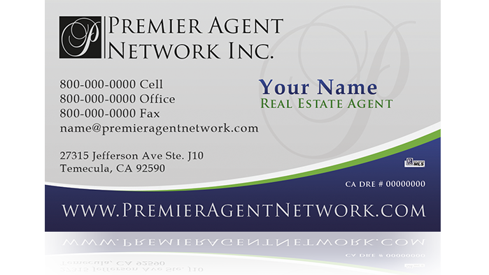 Collins, CA Real Estate Agent Business Cards