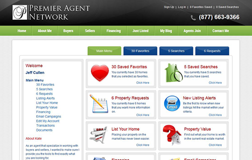 Real Estate Agent Website in the U.S.